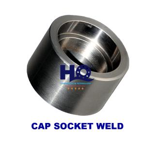 Cap socket weld 3000# ASME B16.11 ANSI A105