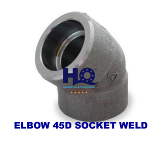 Elbow 45D socket weld 3000# ASME B16.11 ANSI A105