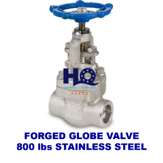 Globe valve forged socket weld class 800 SUS304