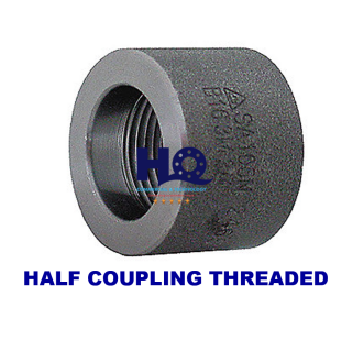 Half coupling threaded 3000# ASME B16.11 ANSI A105