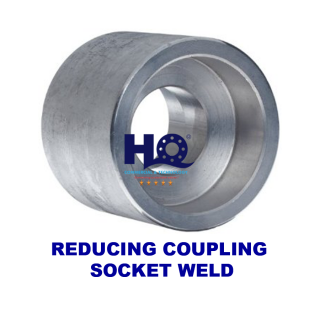 Reducing coupling socket weld 3000# ASME B16.11 ANSI A105