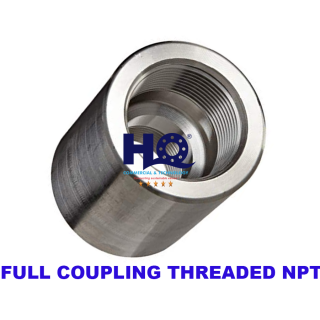 Full coupling threaded end 3000# ASME B16.11 ANSI A105