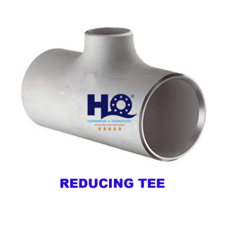 REDUCING TEE STAINLESS STEEL ASME B16.9
